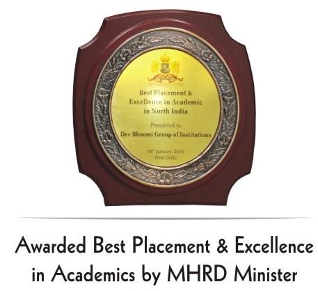 Best Placement Award