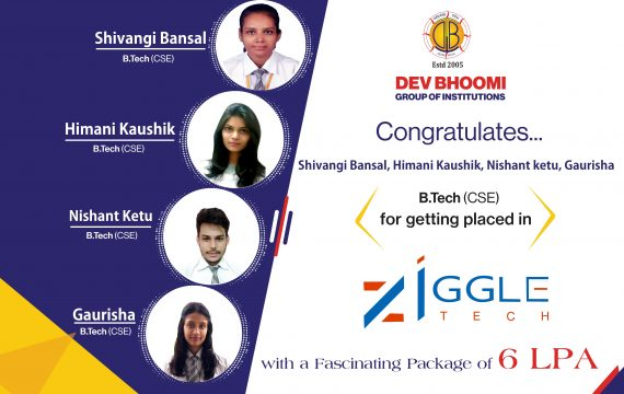 Campus  Drive of Ziggle Tech IN DBGI DEHRADUN