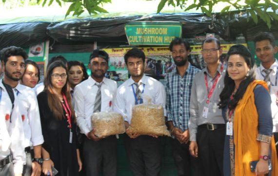 Mushroom Research Center Visit at Krishi Van Center, Dhulkot Uttarakhand