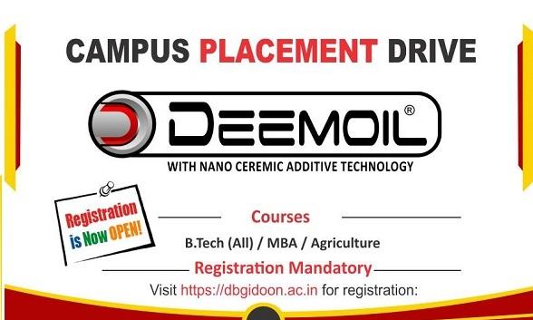 Campus Placement Drive Deemoil