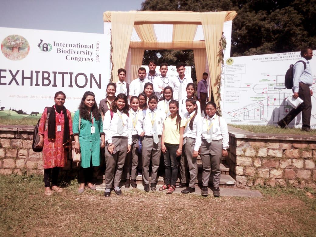 International Biodiversity Congress visit at FRI Dehradun by Department of Applied Sciences