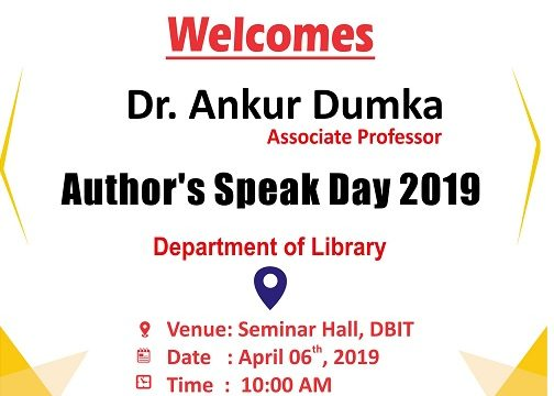 Author's Speak