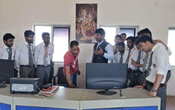 Industrial visit to Sewage Treatment Plant, Dehradun