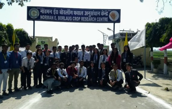 Educational tour to kisan mela, Pantnagar by Department of Agriculture