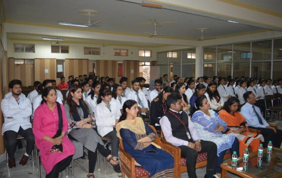 Guest lecture : Universal Health Coverage-Everyone,Everywhere by Department of Ayurveda