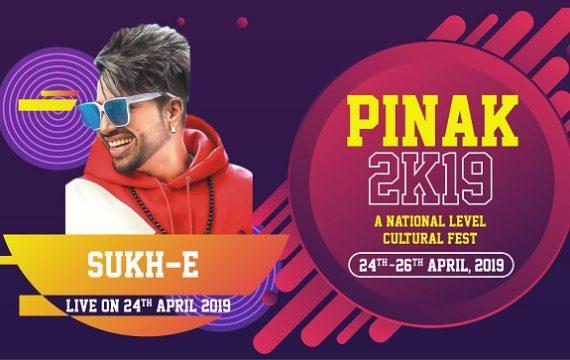 Sukh-E  – Live in Celebrity Night Pinak 2019 – DBGI CAMPUS