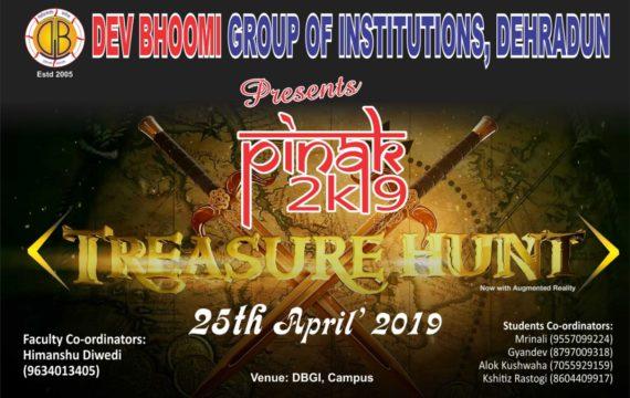 PINAK 2019 – TREASURE HUNT