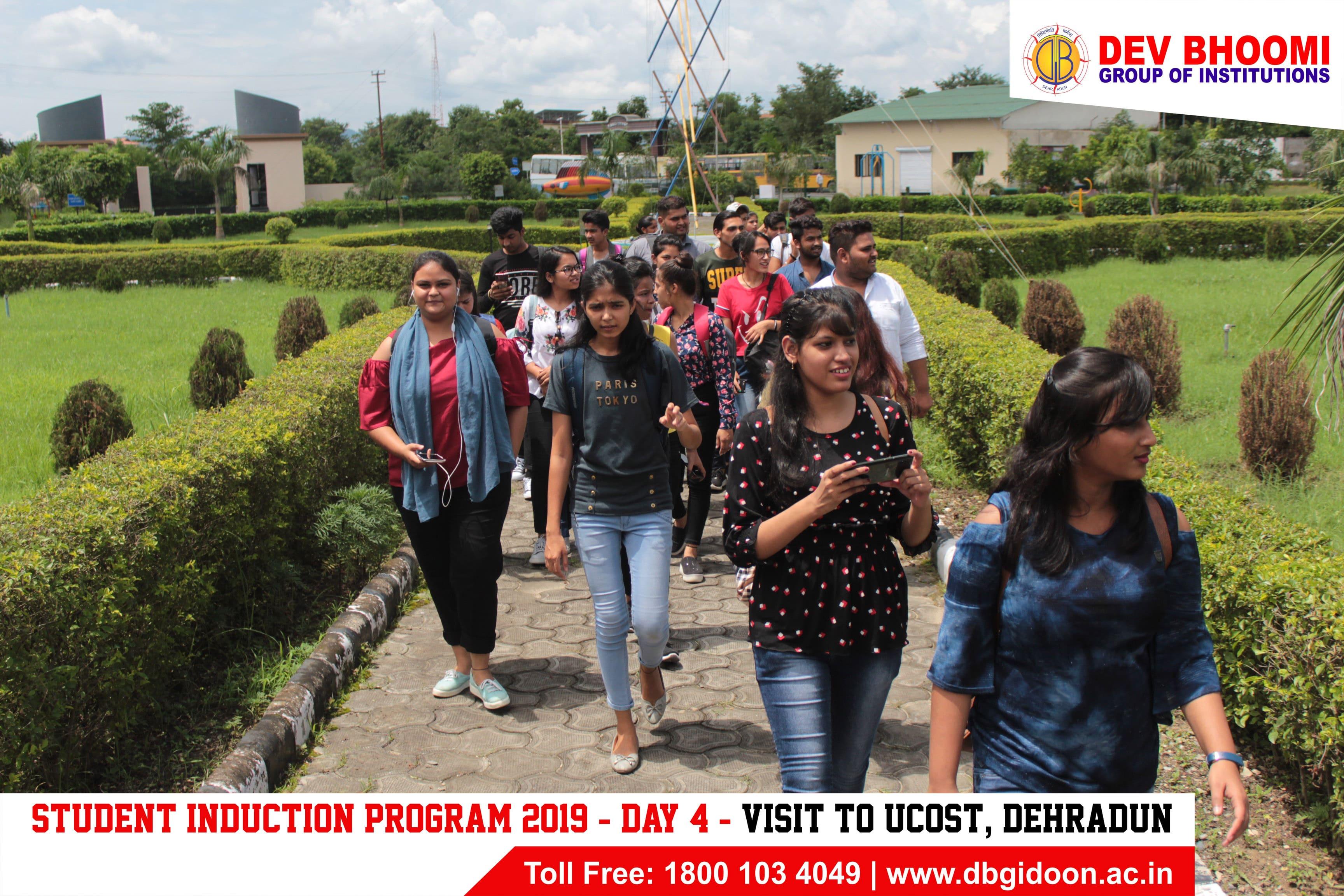 Induction Program for Freshers 2019-20 – Educational Visits