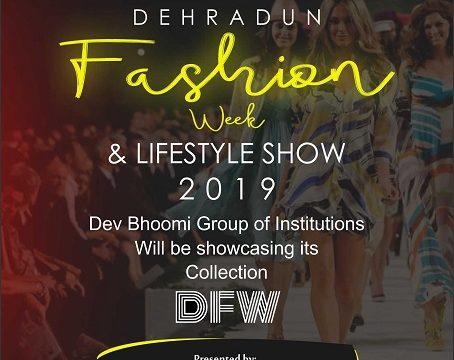Dehradun fashion Week & lifestyle fashion show 2019 – Department of Fashion Designing
