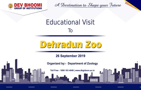 Educational Visit To Dehradun Zoo Department of Applied Science