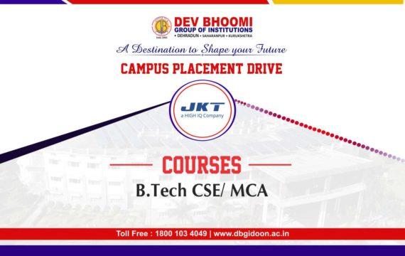 Campus Placement Drive ofJK Technosoft