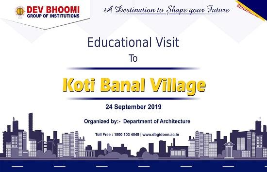 An Educational Excursion To Koti Banal Village