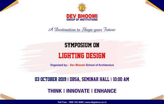 Seminar On Lighting Design by Dev Bhoomi School of Architecture