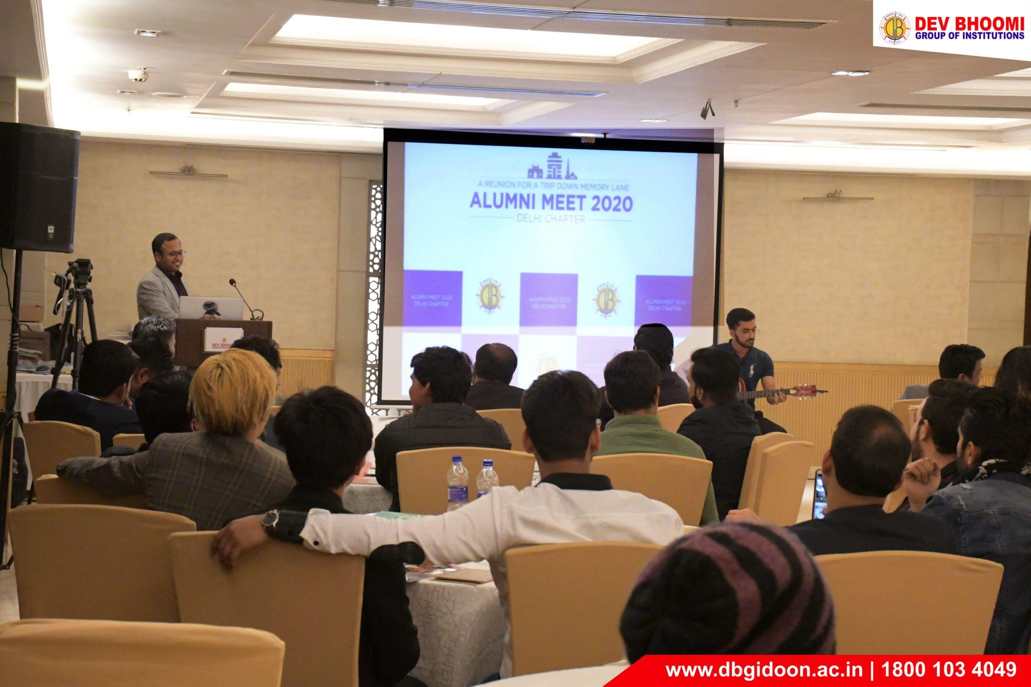 DBGI Alumni Meet 2020 – Delhi Chapter