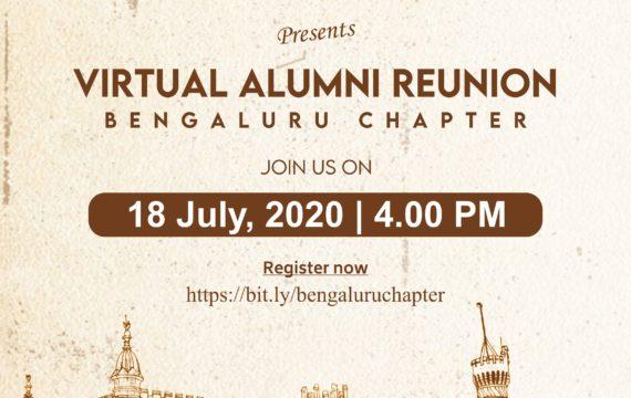Virtual Alumni Meet – Bengaluru Chapter